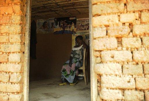 Une victime de viol dans sa maison de Nakiele, dans la province congolaise du Kivu, le 3 juillet 2011 AFP/Archives Tony Karumba