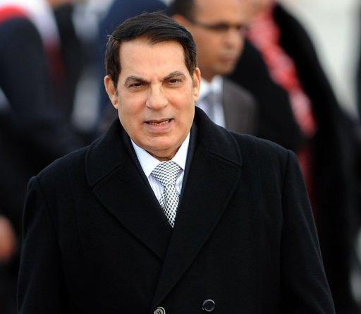 Ben Ali, le 13 décembre 2010 à Tunis AFP/Archives Fethi Belaid