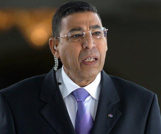 Ali Seriati, l'ex-chef de la sécurité du président tunisien déchu Ben Ali, le 13 décembre 2010 à Tunis AFP/Archives Fethi Belaid