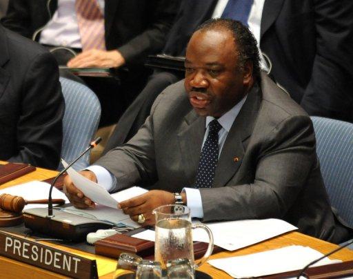 Le président du Gabon, Ali Bongo, le 7 juin 2011 à New York AFP/Archives Stan Honda