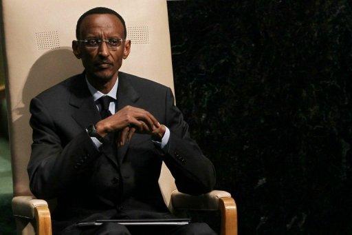 Le président rwandais Paul Kagame à New York, le 24 septembre 2010 AFP/Getty Images/Archives Chris Mcgrath