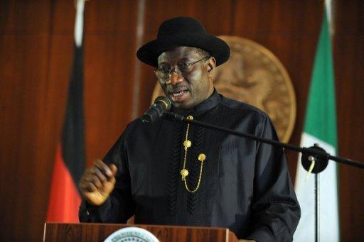Le président nigérian Goodluck Jonathan, le 14 juillet 2011 à Abuja AFP/Archives Pius Utomi Ekpei