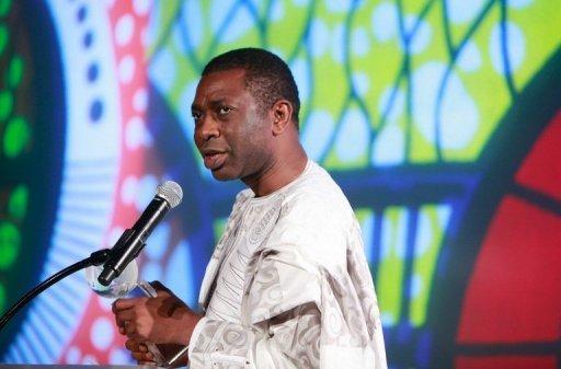 Youssou NDour lors d'une campagne conrte la malaria, le 8 novembre 2010 à New York AFP/Getty Images/Archives Amy Sussman