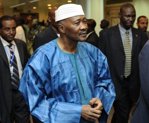 Le président malien Amadou Toumani Touré à Addis Ababa le 29 janvier 2011 AFP/Archives Tony Karumba