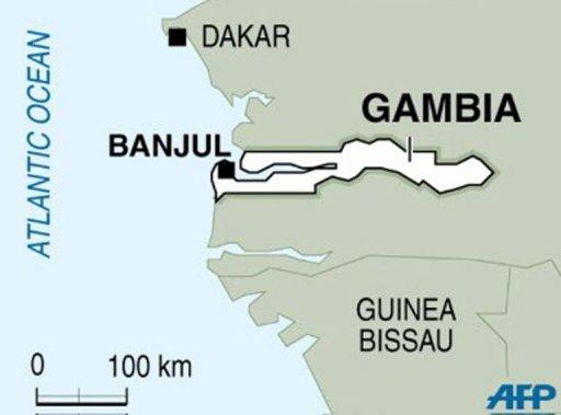 La Gambie. AFP