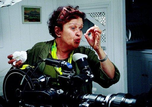 Salma Baccar le 18 février 2006 à Tunis AFP/Archives