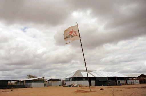 Un drapeau de Médecins sans frontières AFP/Archives Tony Karumba