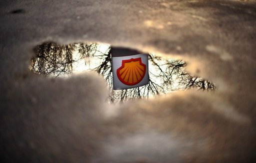 Le logo de Shell AFP/Archives Carl de Souza
