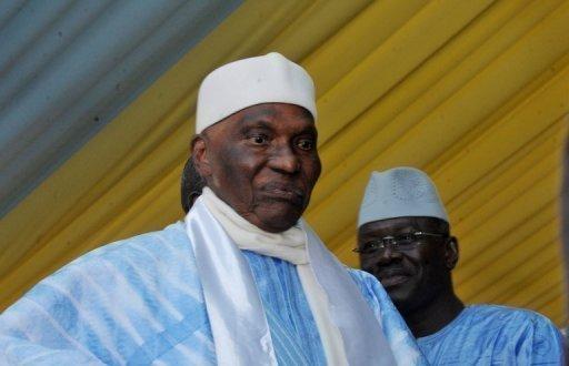Le président sortant du Sénégal Abdoulaye Wade à Dakar le 23 décembre 2011 AFP/Archives Seyllou