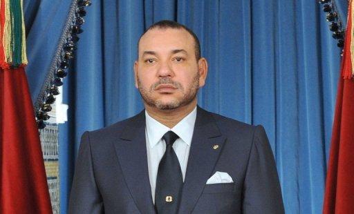 Le roi du Maroc, Mohammed VI, le 20 août 2011 à Rabat AFP/Archives Azzouz Boukallouch