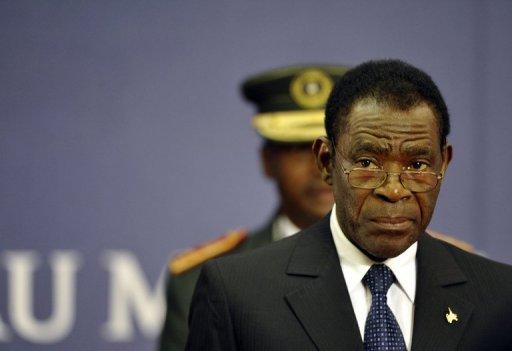 Le président de Guinée équatoriale Teodoro Obiang Nguema le 3 novembre 2011 lors du sommet du G-20 AFP/Archives Eric Feferberg