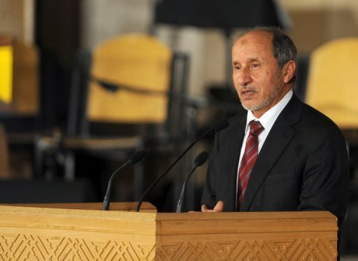 Le président du Conseil National de Transition (CNT) libyen Mustapha Abdel jalil, pour qui cette déclaration d'autonomie n'aura