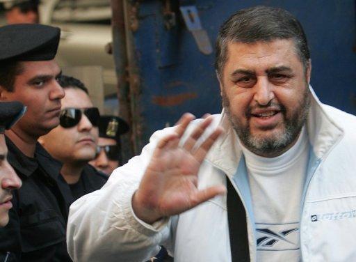 Khairat al-Chater, au Caire lors d'un procès le 10 décembre 2007 AFP/Archives Khaled Desouki