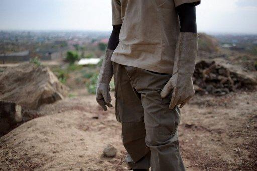 Un mineur au Soudan AFP/Archives Phil Moore