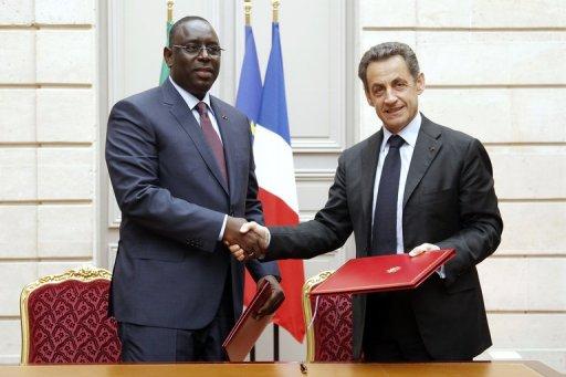 Macky Sall et Nicolas Sarkozy