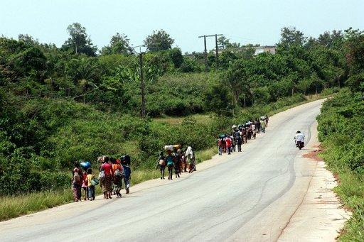 Une route dans la région de Guiglo AFP/Archives Zoom Dosso