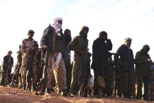 Des combattants du MNLA dans un lieu indéterminé au Mali MNLA/AFP/Archives