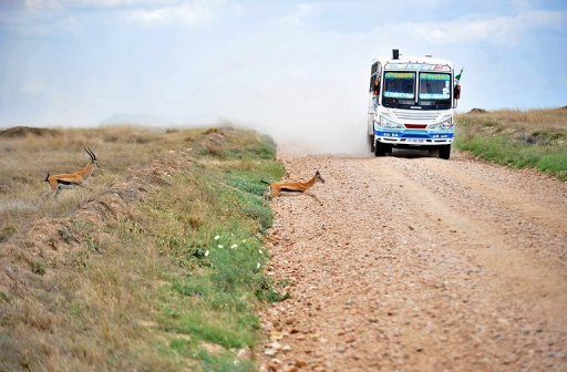 Une route en Tanzanie AFP/Archives Tony Karumba