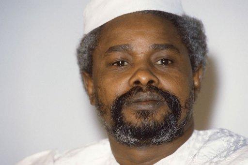 Photo datée du 17 janvier 1987 de Hissène Habré, à N'Djamena, au Tchad AFP/Archives Dominique Faget