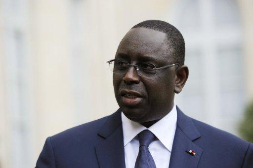 Le président sénégalais Macky Sall, le 6 juillet 2012 à l'Elysée AFP/Archives Bertrand Guay