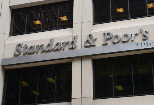 Le siège de l'agence de notation Standard & Poor's le 18 septembre 2012 à New York AFP/Archives Emmanuel Dunand