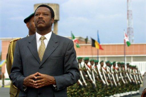 L'ex-président burundais Pierre Buyoya, le 31 octobre 2011 à Bujumbura AFP/Archives Pedro Ugarte