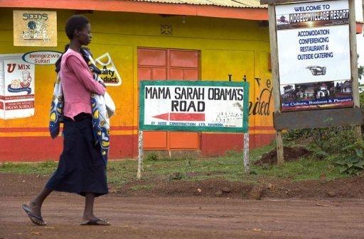 Une femme le 5 novembre 2012 à Kogolo, le village des origines kenyanes de Barack Obama AFP Tony Karumba
