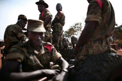 Des militaires centrafricains à Birao AFP/Archives Fred Dufour
