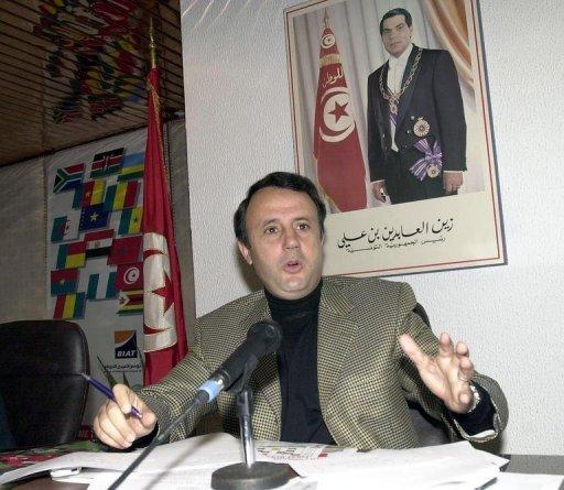 Slim Chiboub, le 3 janvier 2004 à Tunis AFP/Archives Fethi Belaid