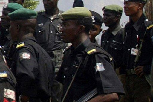 Des policiers à Abuja AFP/Archives Pius Utomi Ekpei