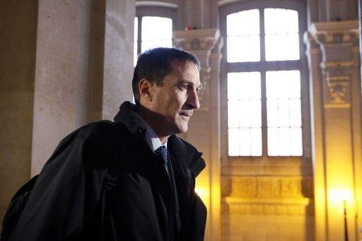 Le colonel Eric Burgaud, le 27 novembre 2012 à la cour d'assises de Paris AFP/Archives Kenzo Tribouillard