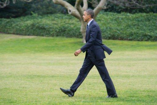 Le président Barack Obama, le 20 décembre 2012 à Washington AFP Karen Bleier