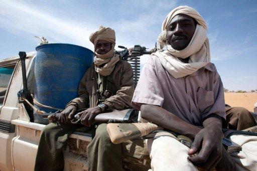 Des rebelles soudanais du Darfour, de l'Armée de libération du Soudan Unamid/AFP/Archives Albert Gonzalez Farran