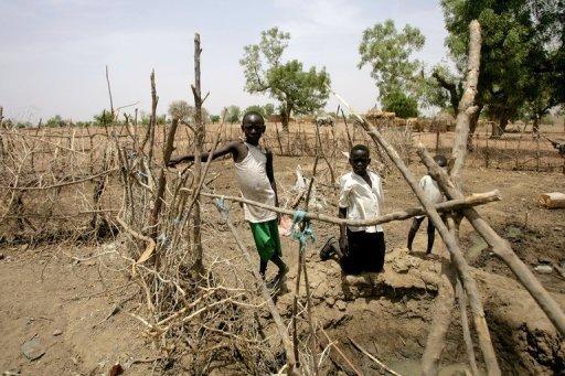 Des petits Soudanais à Talodi, dans la province du Kordofan-Sud, le 12 avril 2012 AFP/Archives Ashraf Shazly