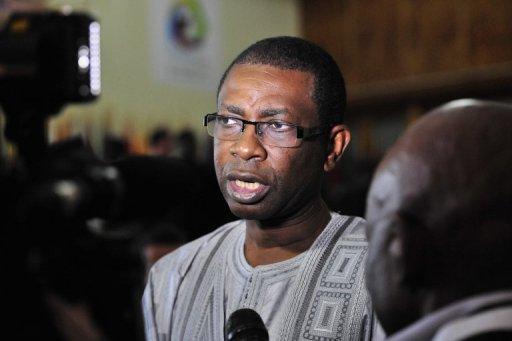 Le chanteur et ministre du Tourisme du Sénégal Youssou Ndour, le 14 octobre 2012 à Kinshasa. AFP/Archives Issouf Sanogo