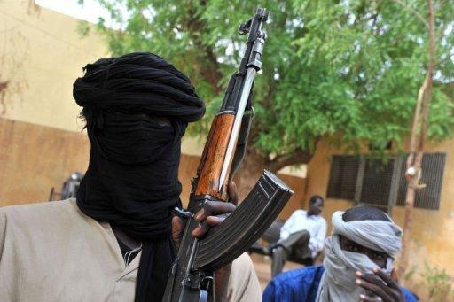 Des combattants islamistes le 12 juillet 2012 à Gao, dans le nord-est du Mali AFP/Archives Issouf Sanogo