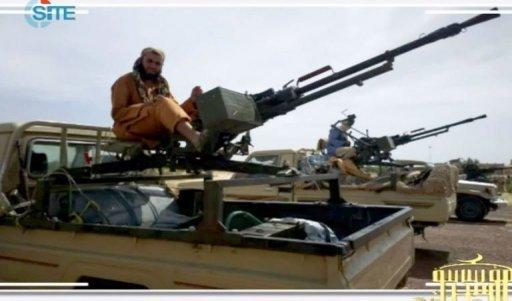 Capture d'écran d'une vidéo montrant des combattants d'Aqmi postés au nord du Mali, et diffusée, le 10 janvier 2013 SITE MONITORING SERVICE/AFP -