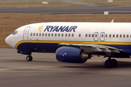 Un avion de Ryanair AFP/Archives Frank Perry