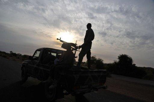 Des soldats maliens en patrouille, le 22 janvier 2013 AFP Issouf Sanogo