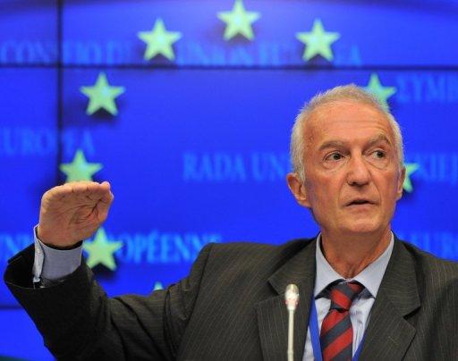 Gilles de Kerchove le 5 septembre 2011 à Bruxelles AFP/Archives Georges Gobet
