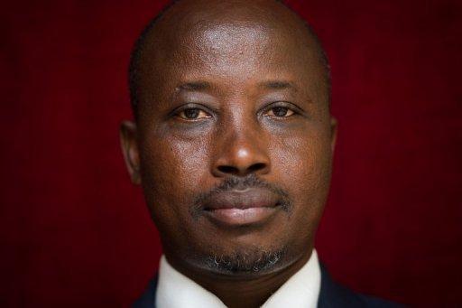 Le dirigeant politique du M23, Jean-Marie Runiga, le 27 novembre 2012 à Goma AFP/Archives Phil Moore