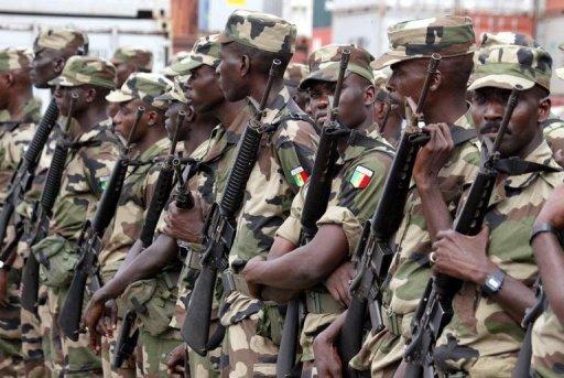 Des soldats sénégalais AFP/Archives Georges Gobet