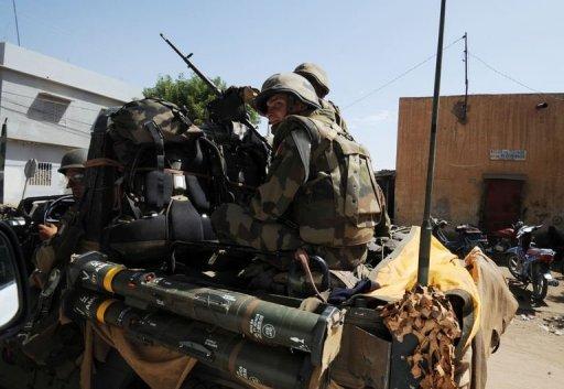 Soldats français le 4 février 2013 à Gao AFP Sia Kambou