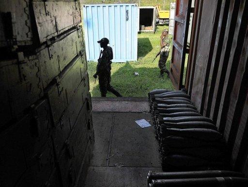 Des rebelles du M23 le 23 novembre 2012 près de Goma AFP/Archives Tony Karumba