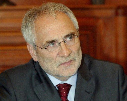 Le député européen slovène Ivo Vajgl le 26 août 2004 à Budapest AFP/Archives Attila Kisbenedek