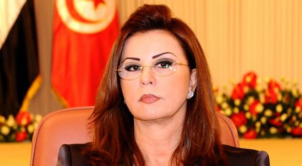 Leïla Trabelsi, à Tunis, le 28 octobre 2010. AFP PHOTO / FETHI BELAID