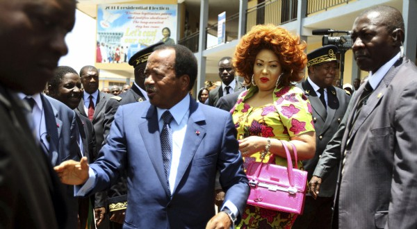 Paul Biya et Chantal Biya