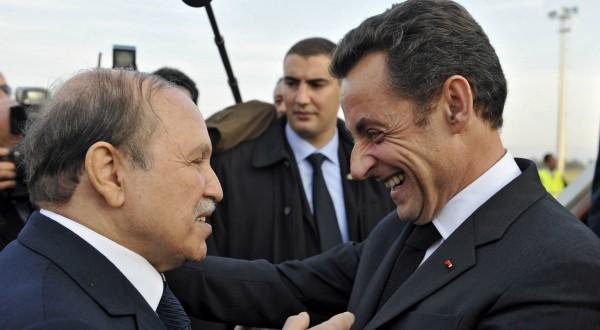 Bouteflika et Sarkozy