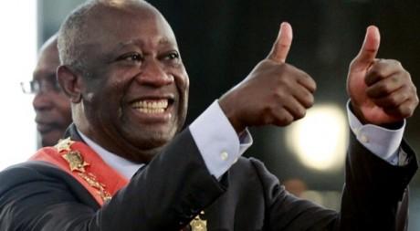 Laurent Gbagbo, le 4 décembre 2010. REUTERS/Thierry Gouegnon
