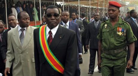 Feu le président togolais Gnassingbé Eyadema à Lomé, le 13 janvier 2005. REUTERS/Noel Koukou Tadegnon